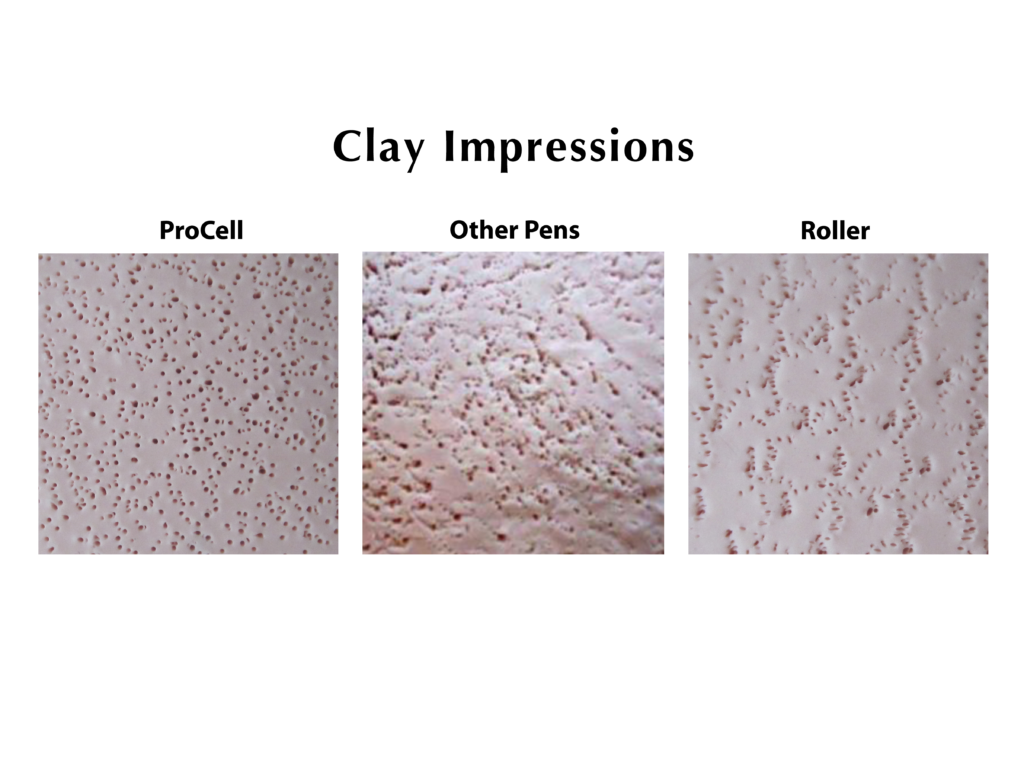 Procell Microchannel Clay Impressions