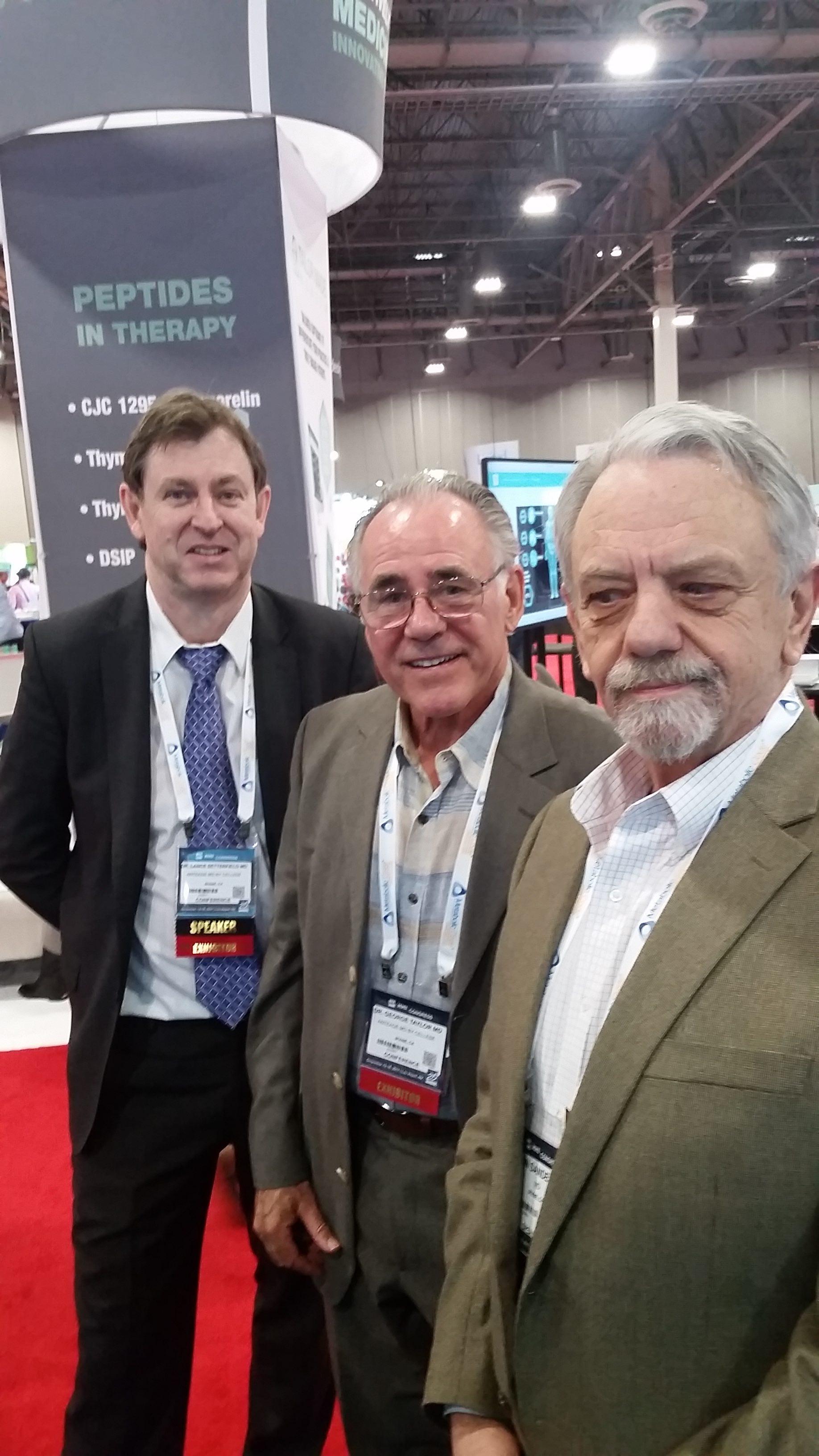 Lance Setterfield, George Taylor, John Sanderson
