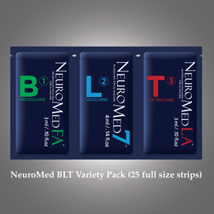 Neuromed BLT 5 Strip Sample pack - LARGE