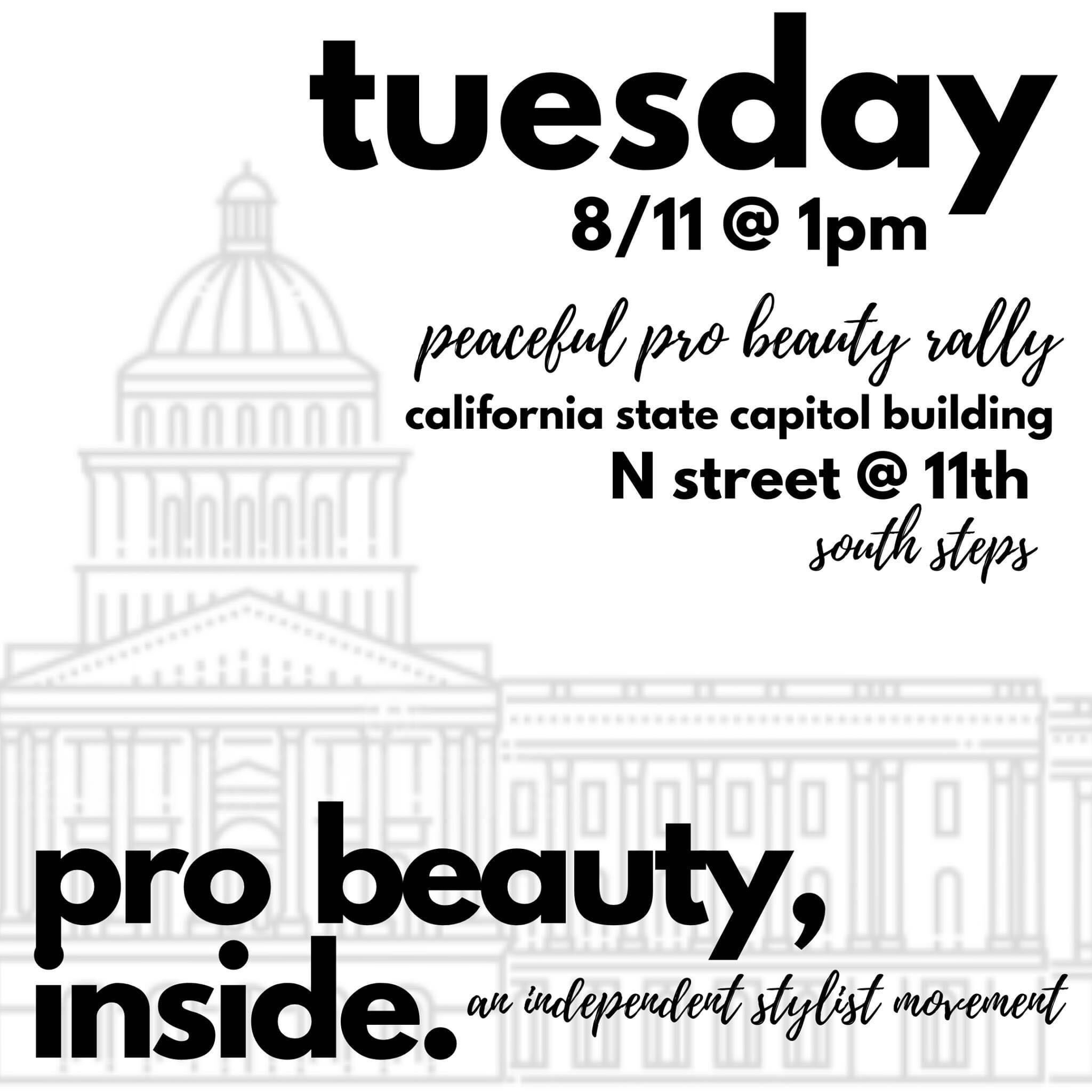 California Pro Beauty Rally Aug 11th